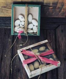Ξυλινο κουτακι – μπομπονιερα γαμου