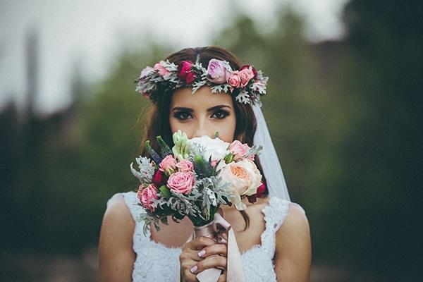 Στεφανακι για τα μαλλια της νυφης