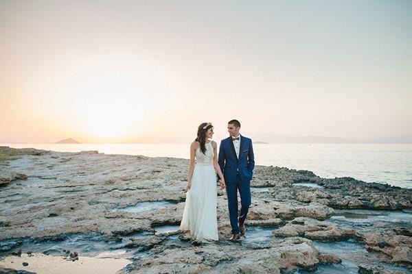 Πανέμορφος ρομαντικός γάμος το καλοκαίρι | Αλίκη & Σωτήρης