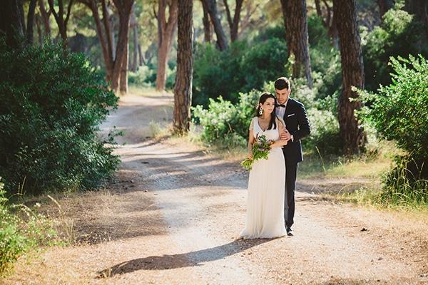 Chic γάμος σε ροζ αποχρώσεις | Φωτεινή & Στράτος