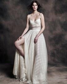 Vasia Tzotzopoulou crop top νυφικο φορεμα