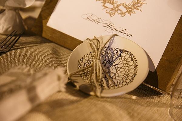 Μπομπονιέρα γάμου – candle holder
