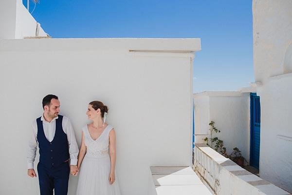 Όμορφος καλοκαιρινός γάμος στην Τήνο