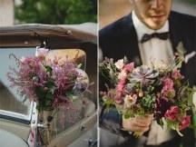 Στολισμος με μπουκετο λουλουδιων