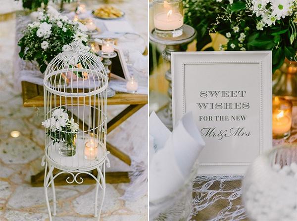Ρομαντικη και elegant διακοσμηση δεξιωσης