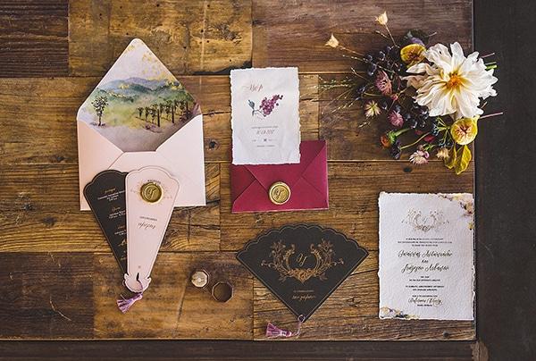 Προσκλητήρια γάμου με θέμα winery wedding