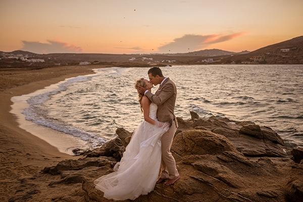 Ένας γάμος στη Μύκονο που θα σας ενθουσιάσει