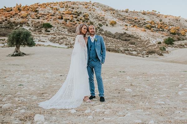 Όμορφος ρομαντικός γάμος στην Πάφο