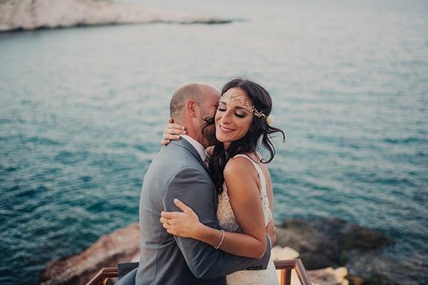 Υπέροχος γάμος με γήινες αποχρώσεις