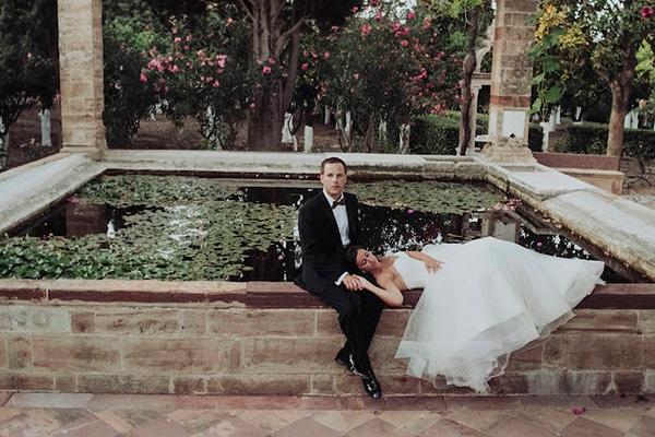 Organic minimalistic γάμος στη Χίο | Ελένη & Sam