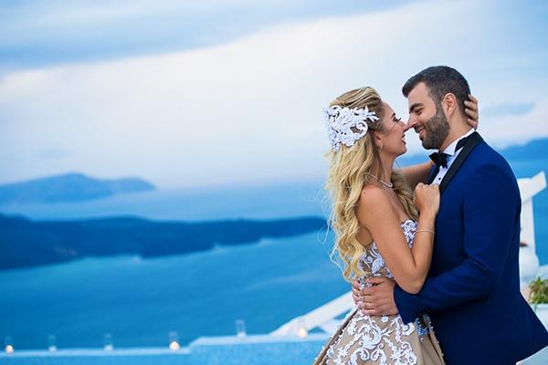 Rustic γαμος στη Σαντορινη
