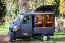 Πρωτοτυπη ιδεα για δεξιωση γαμου – Prosecco Van