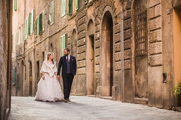 Όμορφος ρομαντικός γάμος στη Φλωρεντία | Αλεξάνδρα & Γιάννης