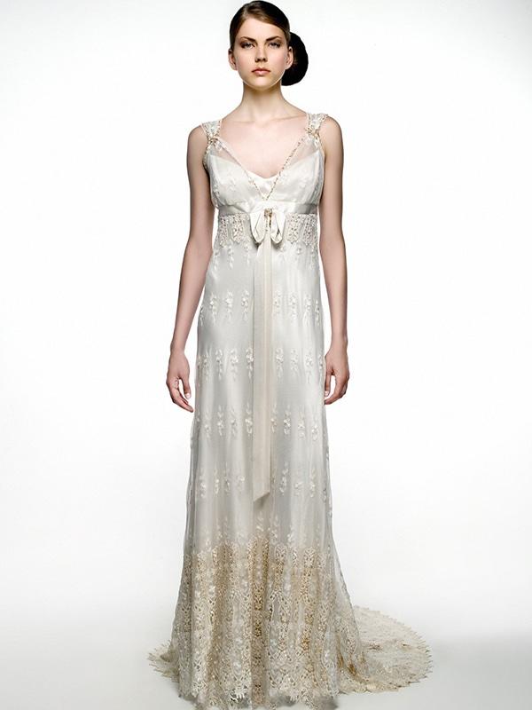 Samantha Sotos – Angela's gown