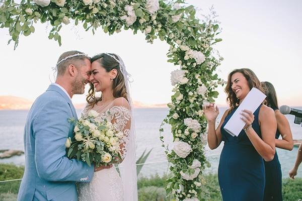 Ονειρεμένος καλοκαιρινός γάμος | Γεωργία & James