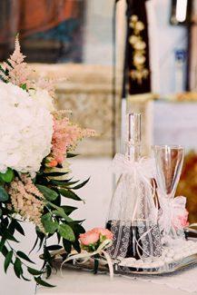 Στολισμος λαμπαδας γαμου