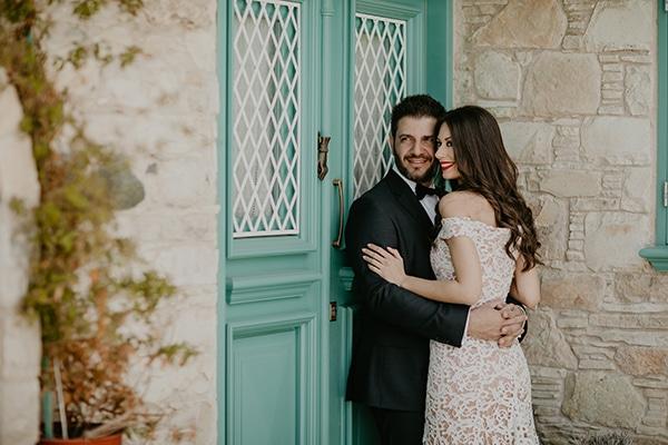 Χειμωνιάτιος γάμος σε σομόν και μπορντό αποχρώσεις | Εύη & Ανδρέας