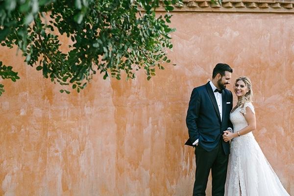 Όμορφος country γάμος με γήινες αποχρώσεις