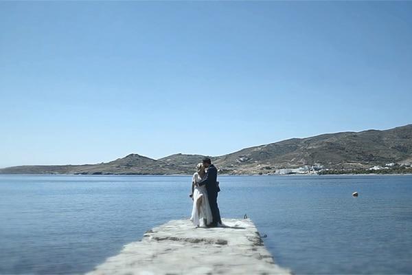 Όμορφο βίντεο γάμου στην Τήνο