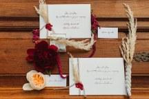 Boho chic προσκλητηρια για γαμο