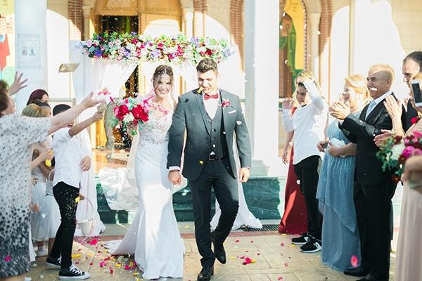 Ονειρεμενος πολυχρωμος γαμος στην Κυπρο | Χαρις & Λουκας