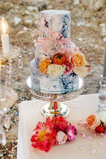 Τούρτα γάμου για έναν elegant γάμο