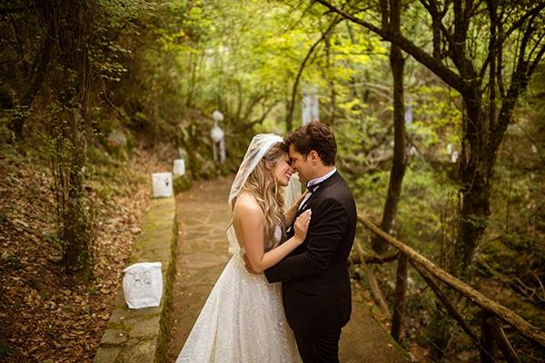 Υπέροχος glam chic γάμος με χρυσές πινελιες | Νικόλ & Γιώργος