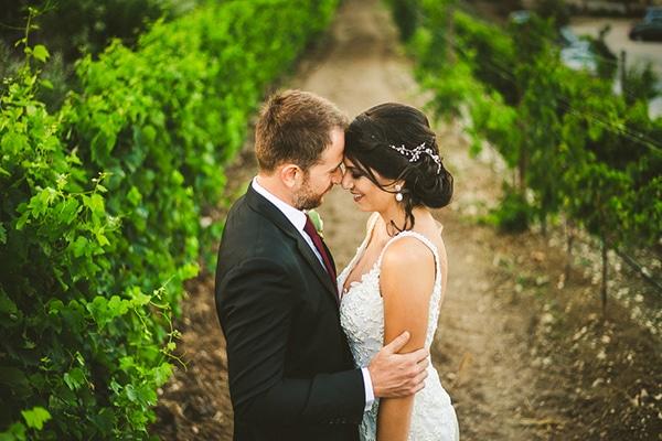 Πανέμορφος ρουστίκ γάμος με μεσογειακά στοιχεία | Μαριάννα & Robert