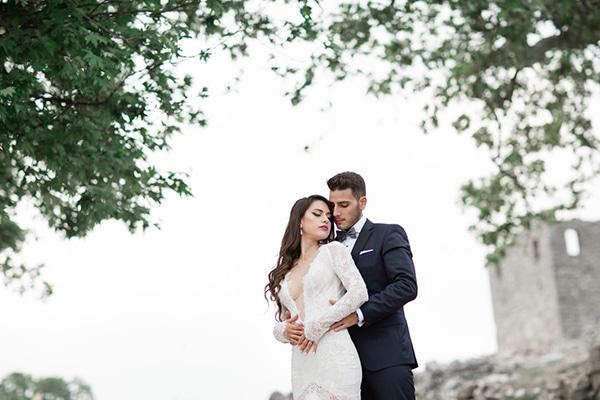 Πανέμορφος γάμος με λευκές αποχρώσεις