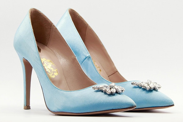 Ρομαντικα παπουτσια γαμου για μια παραμυθενια εμφανιση | Once upon a shoe
