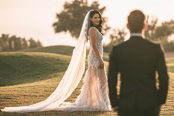 Ρομαντικός γάμος με λευκές και χρυσές αποχρώσεις | Φλώρα & Αλέξανδρος