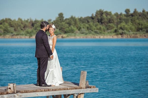 Ρουστίκ καλοκαιρινός γάμος | Χριστίνα & Σπύρος