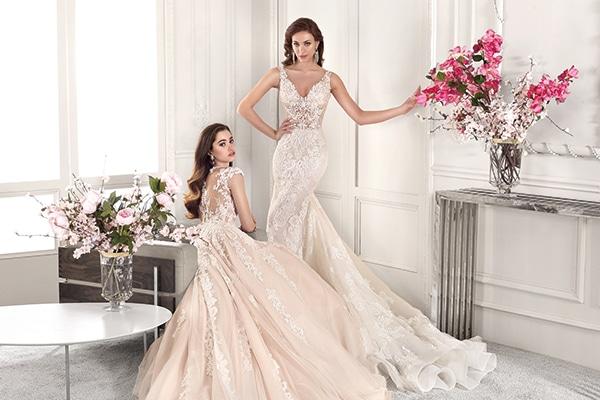 Πανεμορφα νυφικα με απιστευτες λεπτομερειες | Demetrios bridal collection 2019