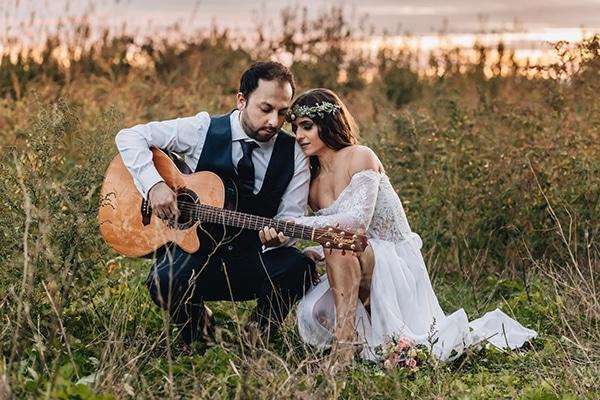 Όμορφος φθινοπωρινός γάμος με ρουστίκ λεπτομέρειες | Νάγια & Απόστολος