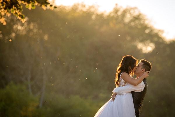Παραμυθένιος γάμος με κυρίαρχο χρώμα το λευκό | Ειρήνη & Κωνσταντίνος