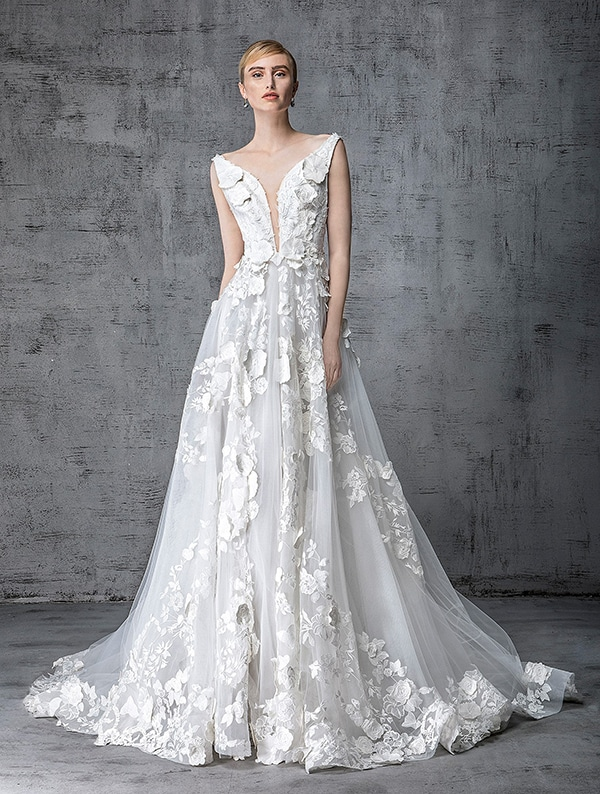Victoria Kyriakides νυφικο φορεμα