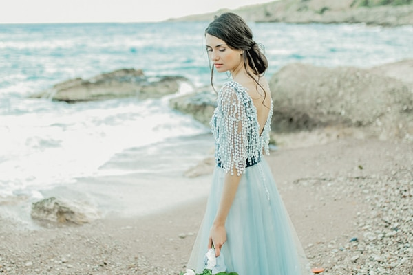 Gorgeous wedding dresses with color