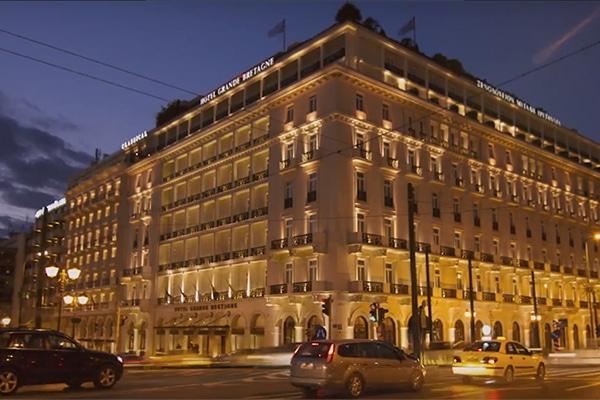 Hotel Grande Bretagne στην Αθηνα
