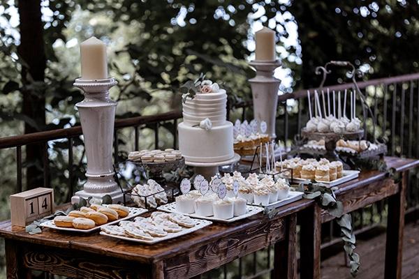 Ιδέες για ενα εντυπωσιακό dessert table γάμου