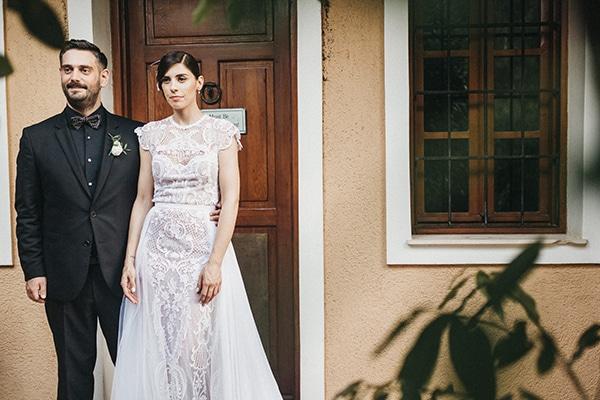 Ρομαντικός γάμος με κυρίαρχο χρώμα το λευκό | Ελένη & Χάρης