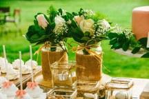 Ρομαντικη διακοσμηση δεξιωσης γαμου
