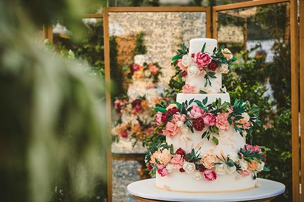 Five-floor τούρτα γάμου