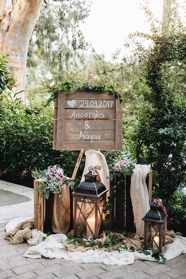 Στολισμος εκκλησιας για ενα ρουστικ γαμο