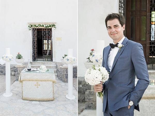 Στολισμος εκκλησιας για καλοκαιρινο γαμο