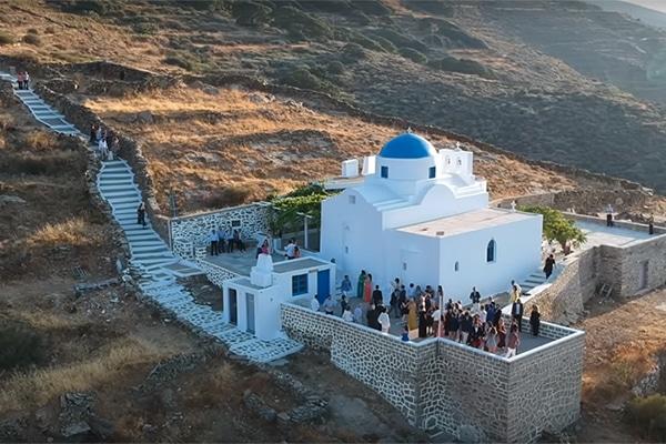 Ομορφο βιντεο γαμου στη Σεριφο | Αθηνα & Παναγιωτης