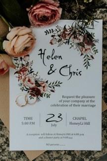 Boho chic προσκλητηριο γαμου