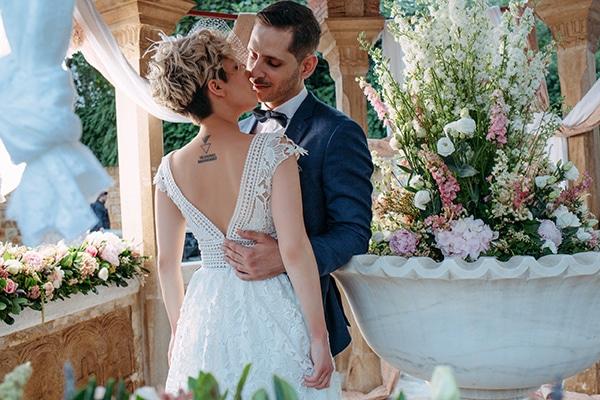 Ονειρικός γάμος με ιδιαίτερες λεπτομέρειες | Αγγελική & Θεοδόσης