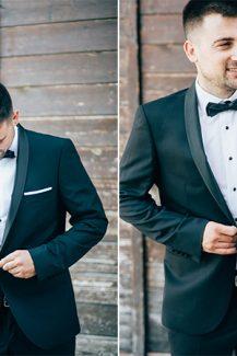 Μαύρο κουστούμι γαμπρού