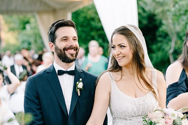 Elegant ρομαντικός γάμος με παραμυθένιες λεπτομέρειες | Κατερίνα & Σταύρος