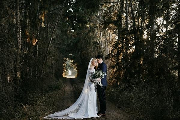 Elegant φθινοπωρινός γάμος
